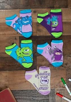 Monsters Inc. 5 Pair Ankle Socks