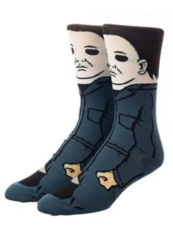 Halloween Mike Meyers 360 Character Crew Sock