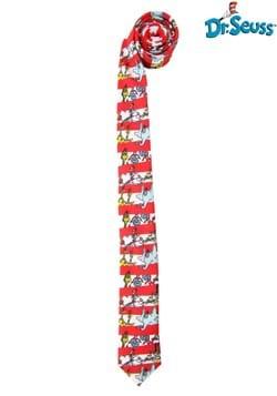 Dr. Seuss Characters & Stripes Necktie