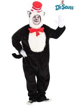 Cat in the Hat Adult Plus Premium Costume