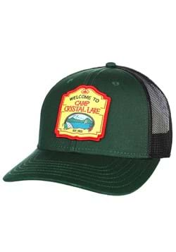 Friday The 13th Camp Crystal Lake Patch Trucker Ha