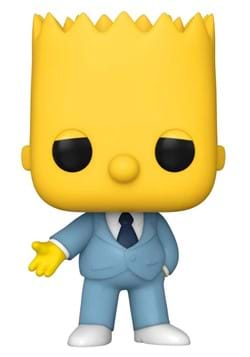 POP Animation Simpsons Mafia Bart Figure