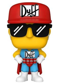 POP Animation: Simpsons- Duffman Update