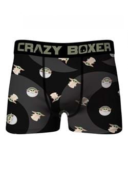 Crazy Boxers Black Baby Yoda Boxer Mens Briefs Main UPD 2