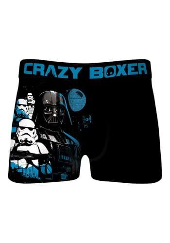 Crazy Boxer Mens Darth Vader Stormtrooper Boxer Briefs