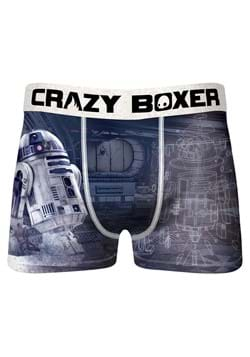 Mens Crazy Boxer Star Wars R2D2 Boxer Briefs