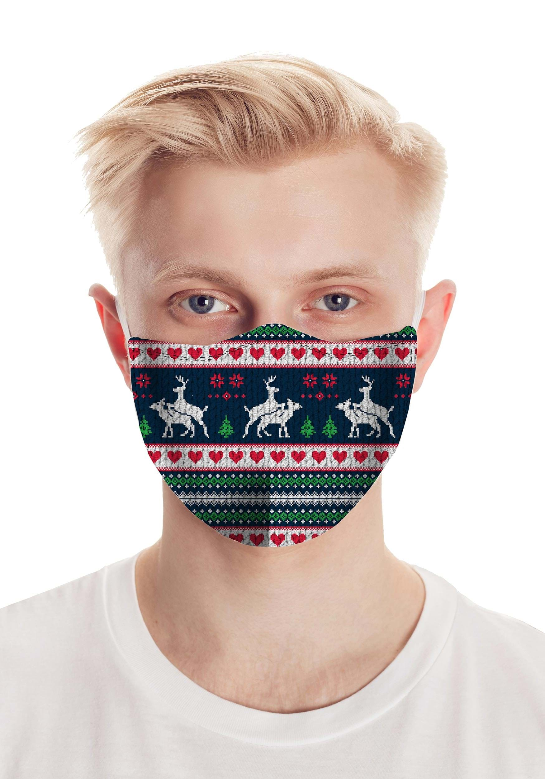Humping Deer Face Mask Accessory
