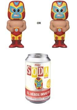 Funko Vinyl SODA Luchadores Iron Man
