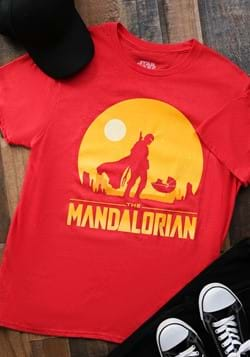 The Mandalorian Mens Red Shirt