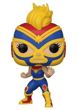 Funko POP Luchadores Marvel Captain Marvel