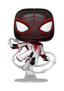 POP Games Marvels Spider Man Miles Morales Game Track Suit
