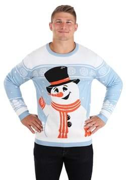 Friendly Snowman Ugly Christmas Sweater Alt 4
