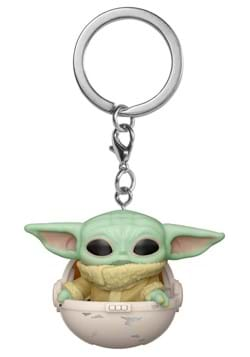 POP Keychain Star Wars The Mandalorian The Child in a Canist