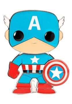 Funko Pop Pins Captain America