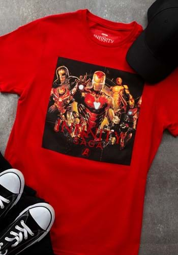 Mens Marvel SAGA IRON MAN T-Shirt