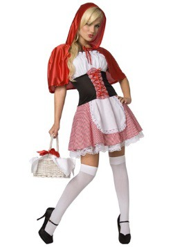 Women's Sexy Red Riding Hood Costume