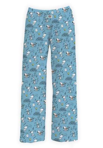 Musical Snoopy Pajama Pants