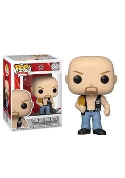 POP WWE Stone Cold Steve Austin w Belt Figure