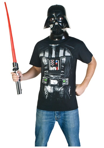 Mens Darth Vader Costume T-Shirt