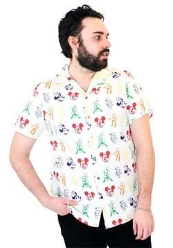 Cakeworthy Unisex Mickey Rainbow Sensational 6 Camper Shirt