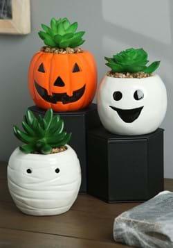 Halloween Succulent Planter Set