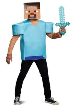Steve Minecraft Costume for Adults