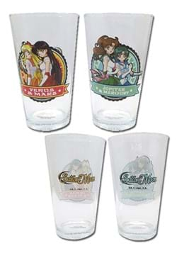 SAILOR MOON - 2 SET GLASS