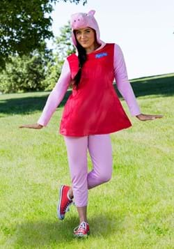 Womens Peppa Pig Deluxe Costume