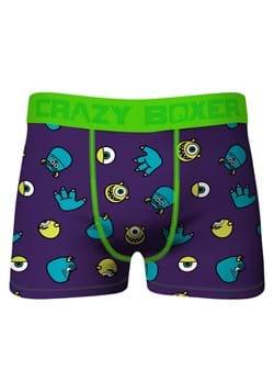 Crazy Boxers Mens Disney Monsters Inc Purple Boxer Briefs