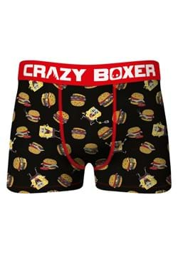 Crazy Boxers Mens Spongebob Food Boxer Briefs