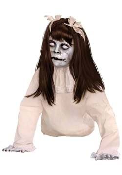 21 Inch Crawling Possessed Girl Animated Prop