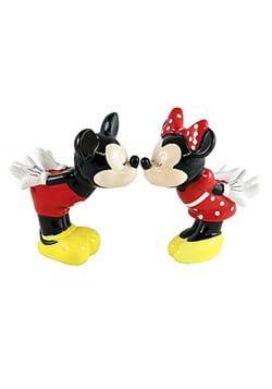 Kissing Mickey Minnie Salt Pepper Shakers