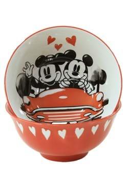 Mickey and Minnie Hello Love Tidbit Bowl