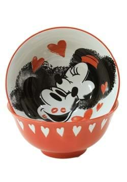 Mickey and Minnie Love and Kisses 6in Tidbit Bowl