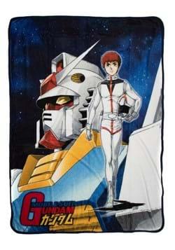 Gundam Original Cover Fleece Throw