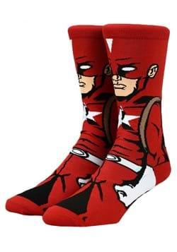 Marvel Black Widow Red Guardian 360 Character Sock