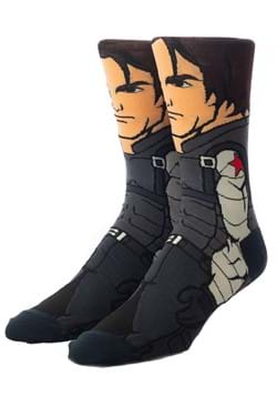 Marvel The Winter Soldier 360 Character Crew Sock