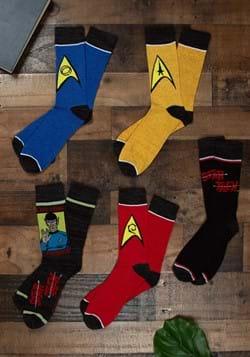 Star Trek Crew Socks 5 Pack