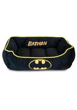 Black and Yellow Batman Dog Bed