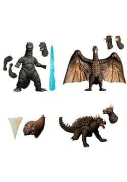 5 Points XL Godzilla Destroy All Monsters Figure Set 1