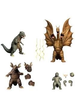 5 Points XL Godzilla Destroy All Monsters 1968 Figure Set 2