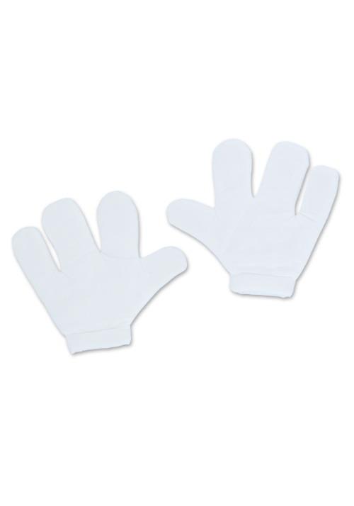 White Cartoon Gloves