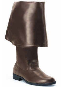 Realistic Caribbean Brown Pirate Boots