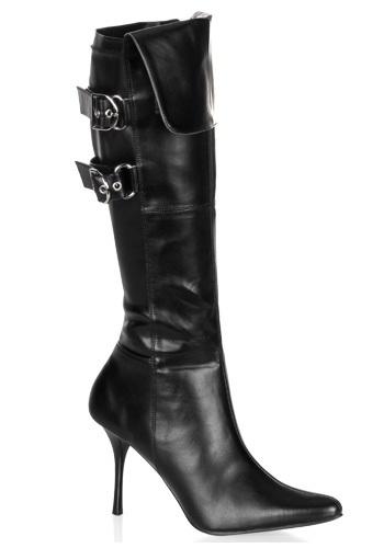 Women's Sexy Black Costume Boots
