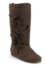 Adult Brown Renaissance Boots