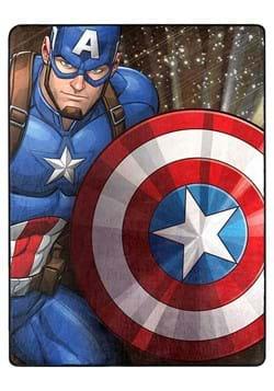 "Avengers Our Captain 46""x60"" Silk Touch Throw"