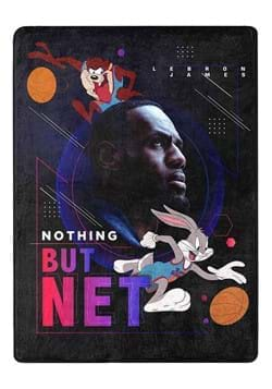 """Space Jam 2 Nothing But Net 46""""x60"""" Silk Touch Throw"""