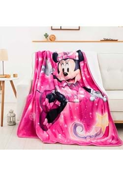 Minnie Mouse Sparkles Oversized Sherpa Throw
