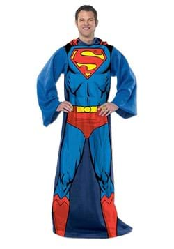 Superman Adult Silk Touch Comfy Throw