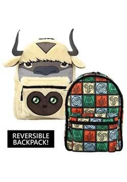 Avatar The Last Airbender Appa & Momo Reversible 3D Backpack